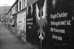 05/2016: Irlande du Nord (Ulster) - Belfast En descendant Falls road
