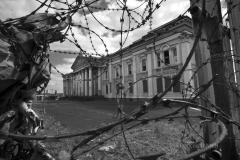 05/2016: Irlande du Nord (Ulster) - Belfast Crumlin, le palais de justice abandonné, en face de la prison