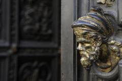 Fevrier 2008 - Italie/Florence: Le Baptistere, la porte nord