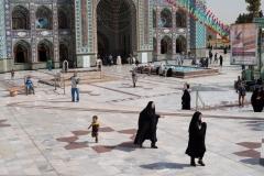 09/2014: IRAN - Téhéran, mosquée Emamzadeh Saleh