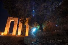 Shiraz, les jardins de Qur'an gate