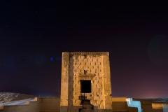 Persepolis, photos de nuit sur le site de Naqsh-e-Rostam