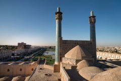 Ispahan - place Naqsh-e Jahan mosquée du Shah